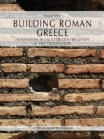 Building Roman Greece. Innovation in vaulted construction in the Peloponnese.