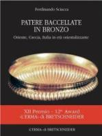 Patere bacellate in bronzo.