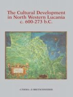 The Cultural Development in North Western Lucania c. 600-273 BC