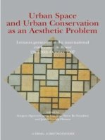 Urban Space and Urban Conservation as an Aesthetic Problem.