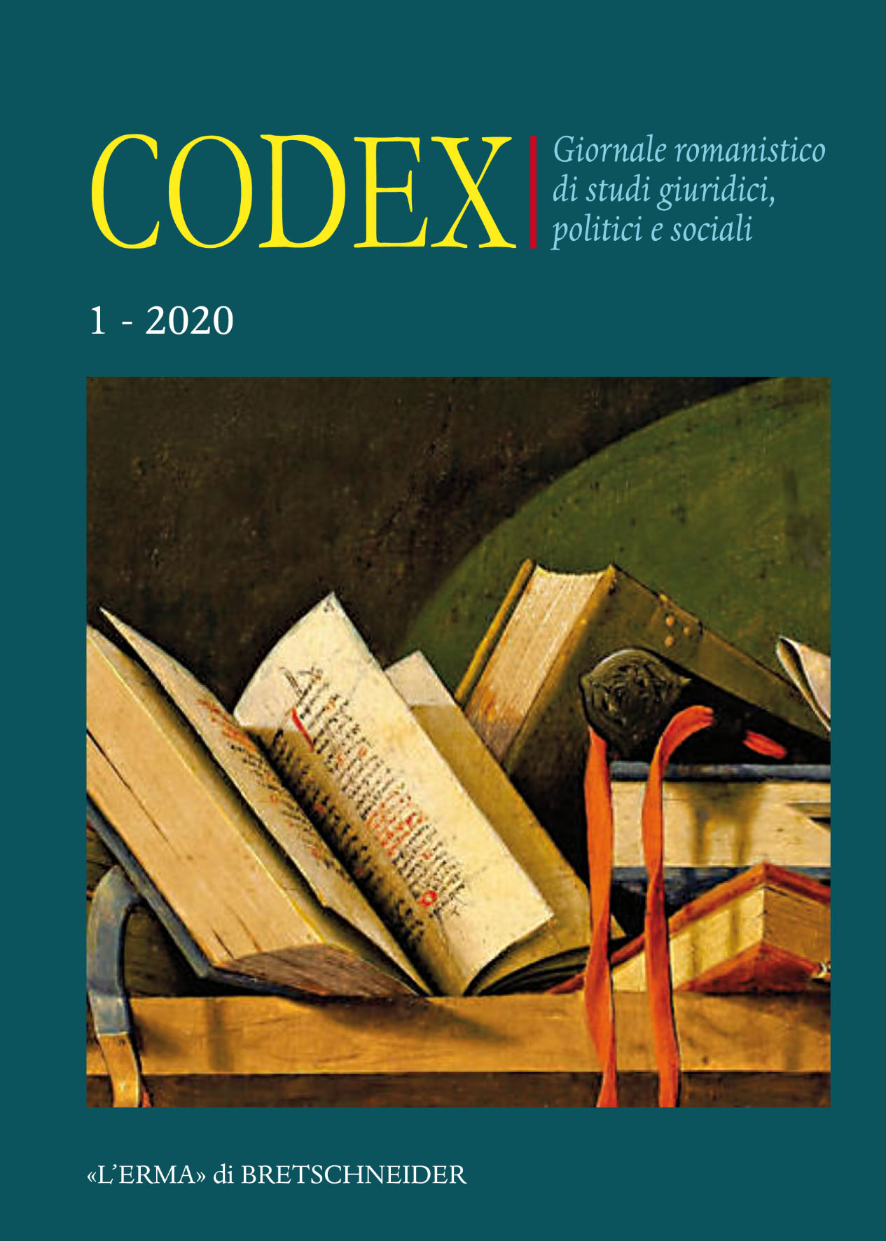 Codex. Vol. 1, 2020